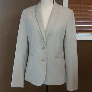 Banana Republic tan blazer/jacket sz 10 NWOT